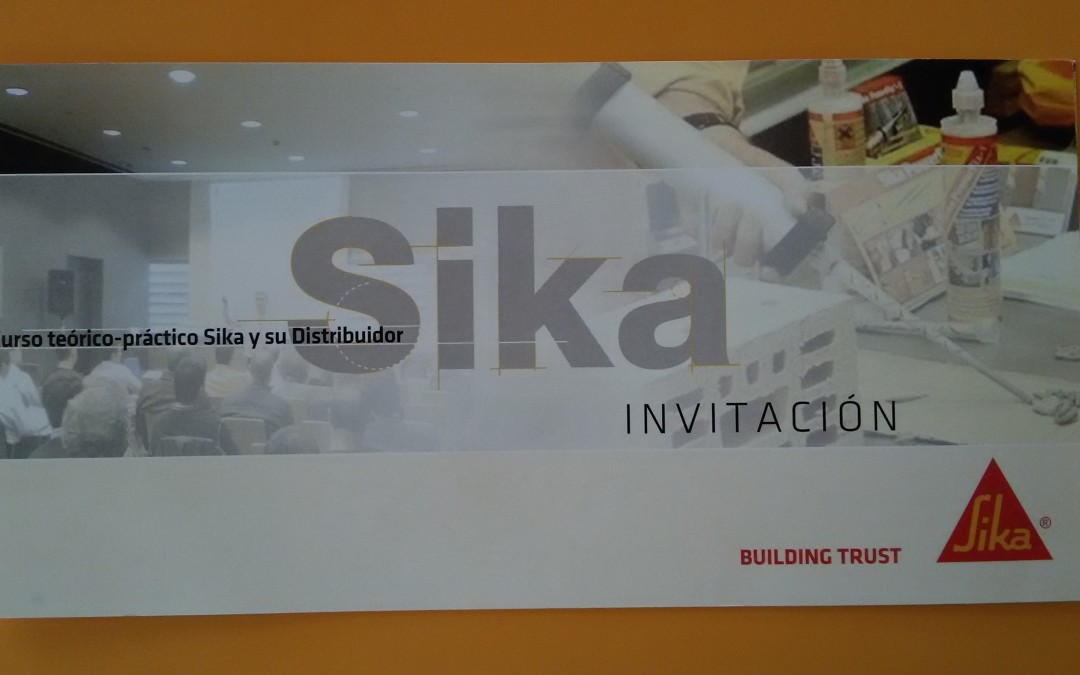 COURSE of products SIKA for rehabilitation and remodeling of buildings