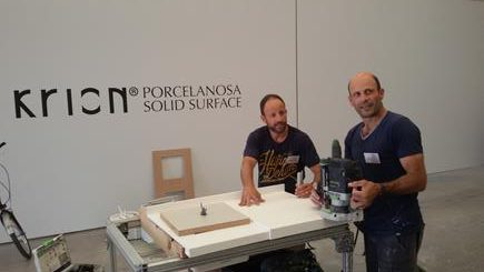 TOYO CUINES:  CURSO KRION SOLID SURFACE