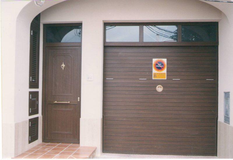 puerta exterior pvc