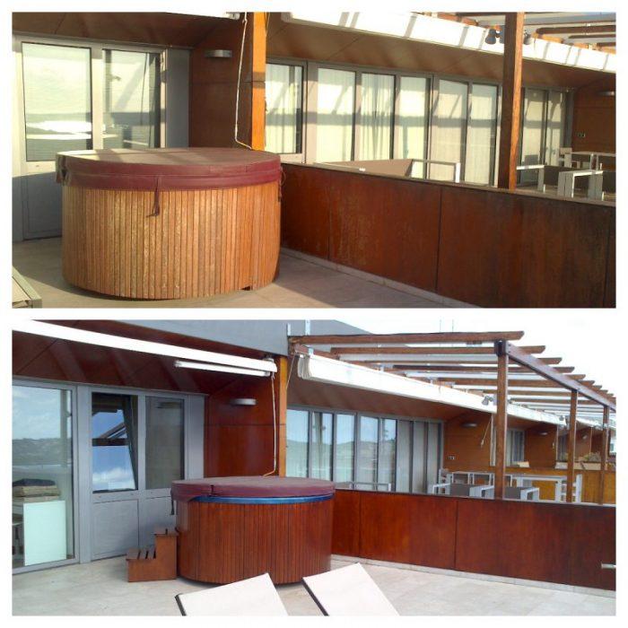 restauracion de madera exterior