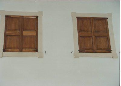 persiana madera plafon