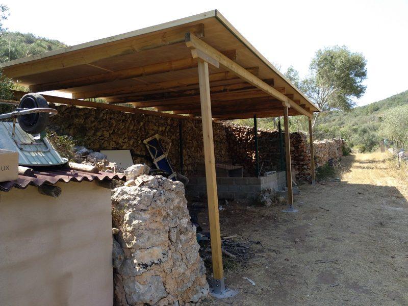 toldo madera