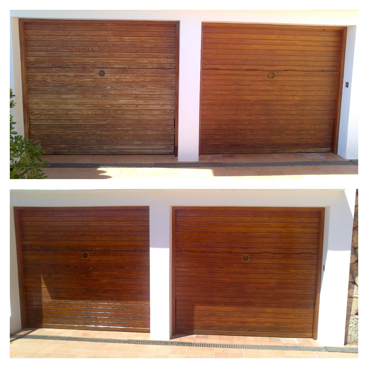 restauración de exterior